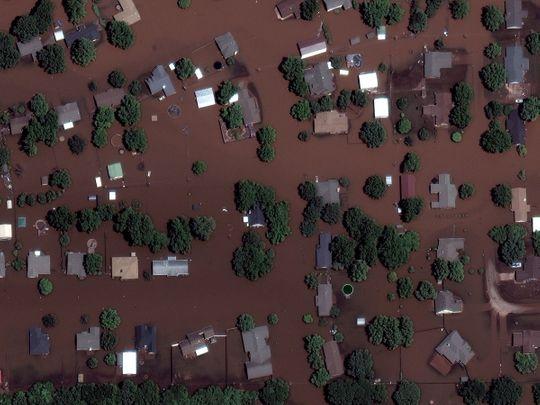 Arkansas River FLOODED