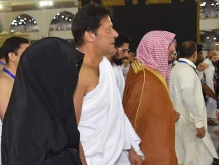 Imran Khan in Makkah