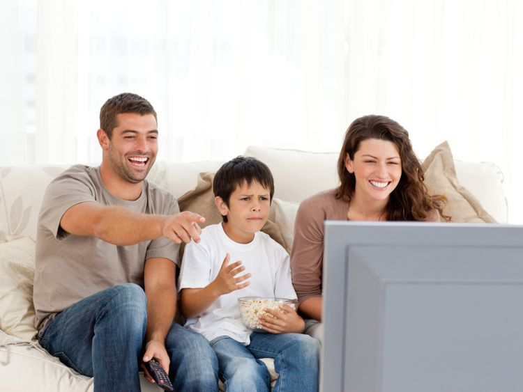 OPN Family watch television1-1559388306790