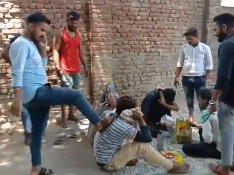 RDS_190601 Four beaten up for eating meat in India-1559371997913
