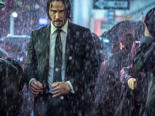 Keanu Reeves in 'John Wick: Chapter 3 - Parabellum'.