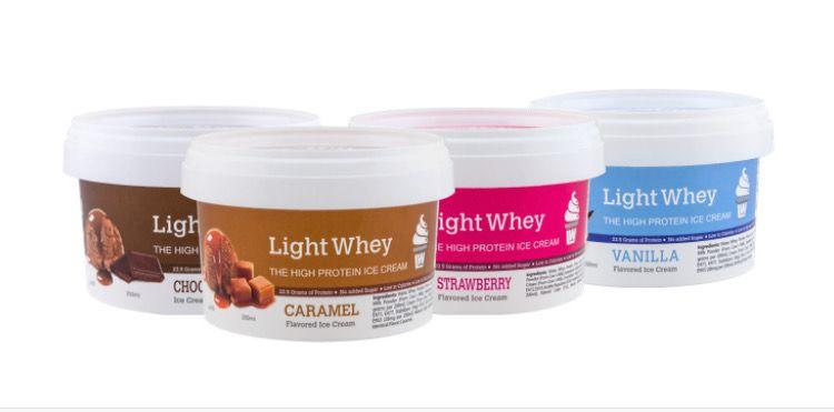 LightWhey protein ice cream