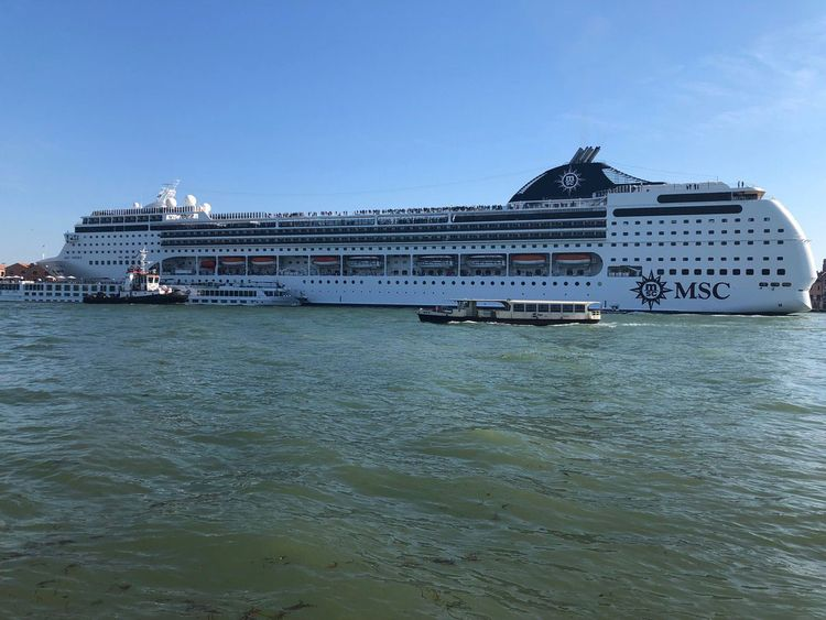 Video: Venice cruise ship loses control, slams wharf and tourist boat