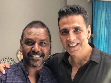 tab Raghava Lawrence with Akshay twitter-1559467975625