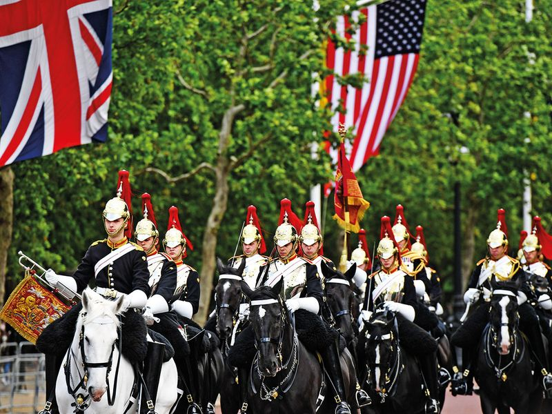 Members of the Household Cavalry