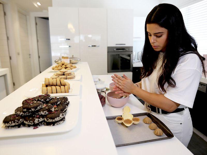 A Jordanian baker makes a healthier version of Maamoul