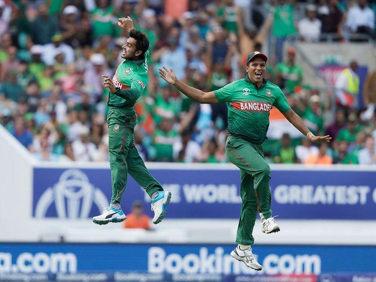 Bangladesh's Mehedi Hasan