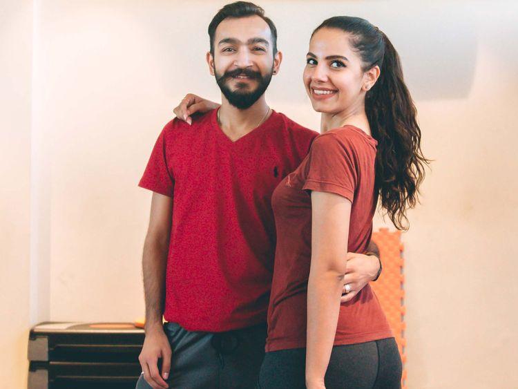 Dancing duo Faizaan Ahab and Komal Jamil-1559550986645