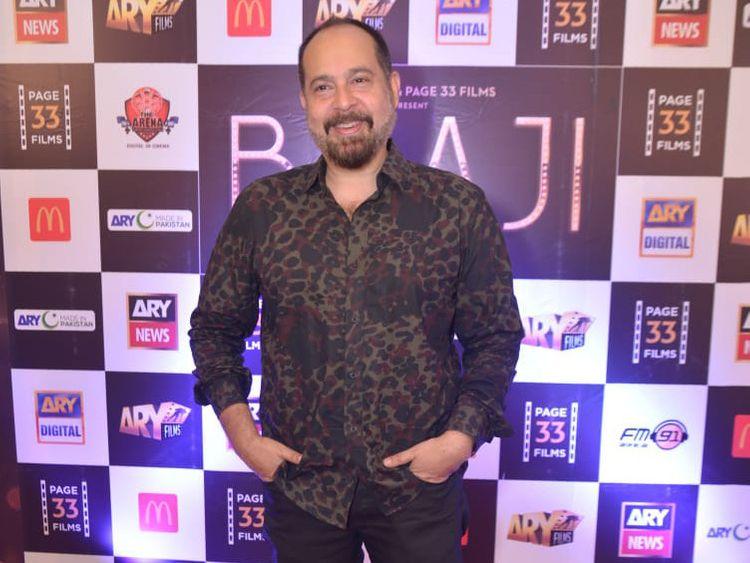 Director Saqib Malik at the trailer launch of BAAJI-1559549636673