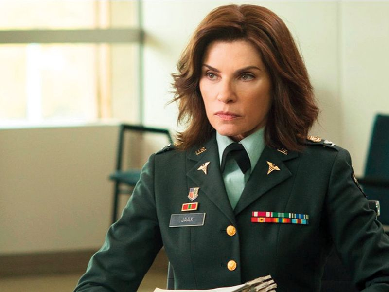 Julianna Margulies in 'The Hot Zone'.