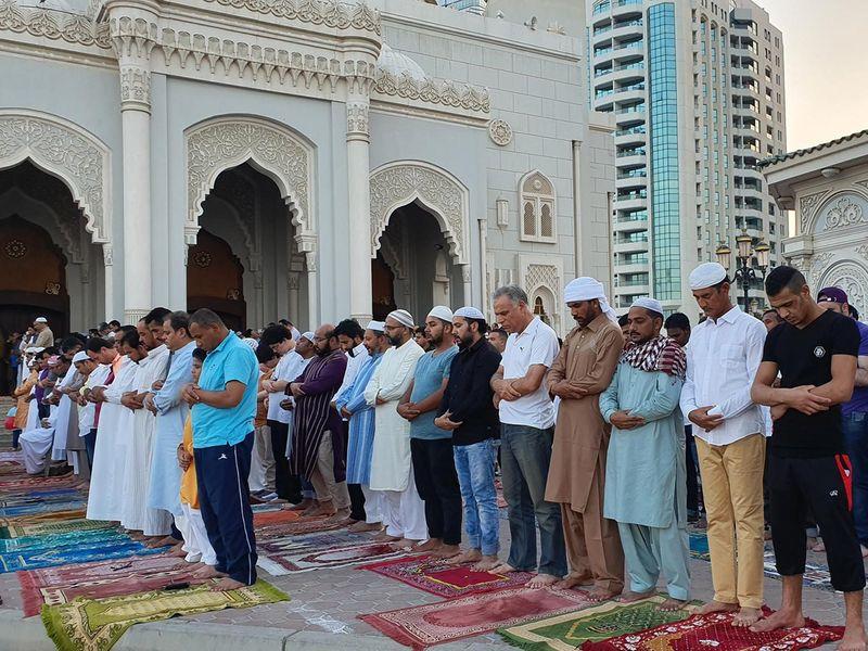 190604 Eid prayer Sharjah