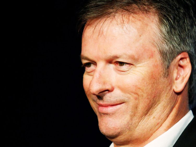 Former Australian cricket captain Steve Waugh