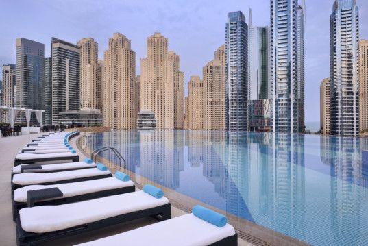 Infinity Pool at Address Dubai Marina-1559626513810