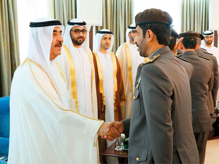 Shaikh Saud Bin Rashid Al Mualla of Umm Al Quwain