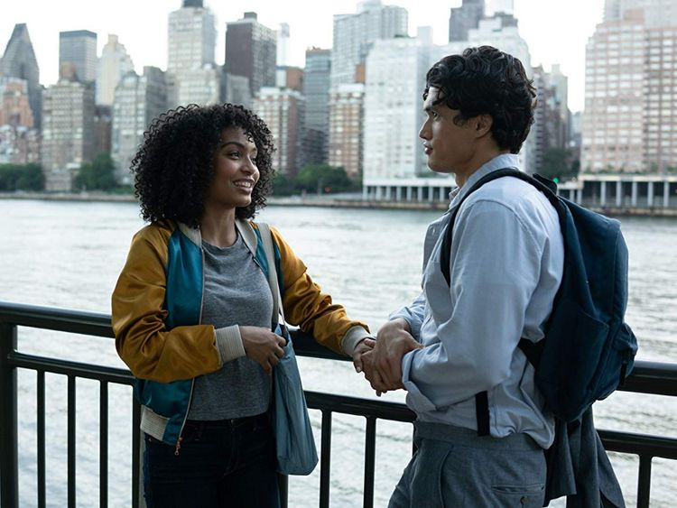 Yara Shahidi and Charles Melton in The Sun Is Also a Star 1-1559643658223