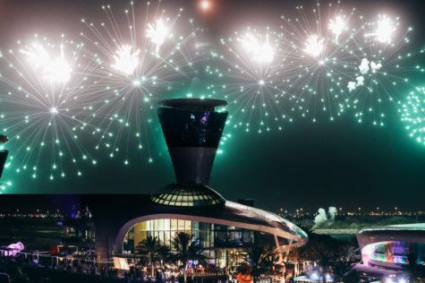 Fireworks celebrating Eid on Yas Island-1559744784546