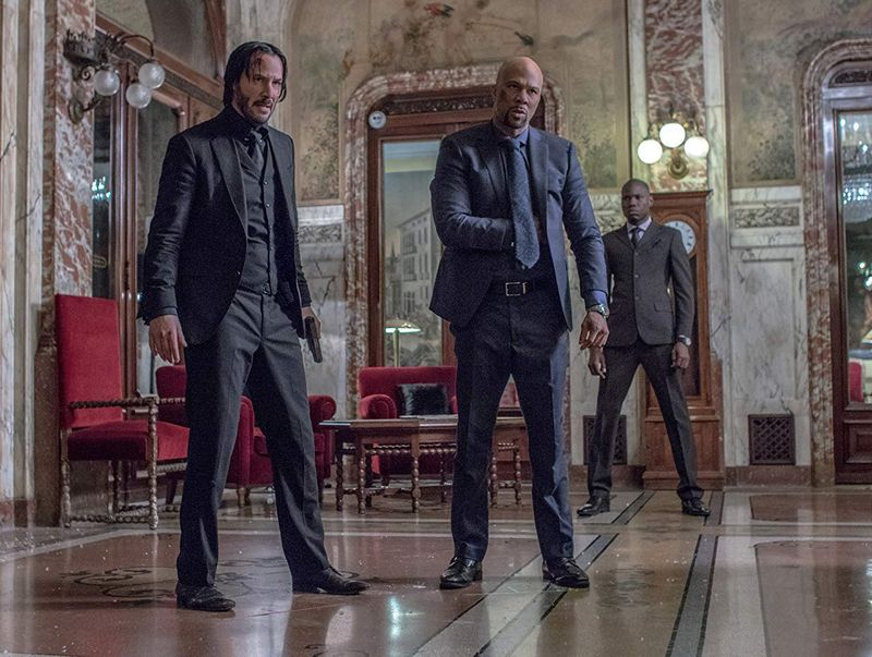 tab Keanu Reeves and Cassian (Common) in John Wick Chapter 2 (2017)-1559729991713