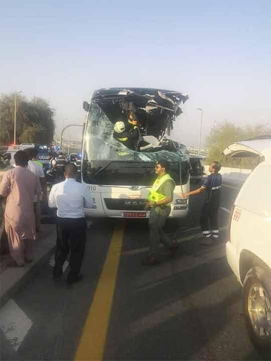 Dubai crash 20190607
