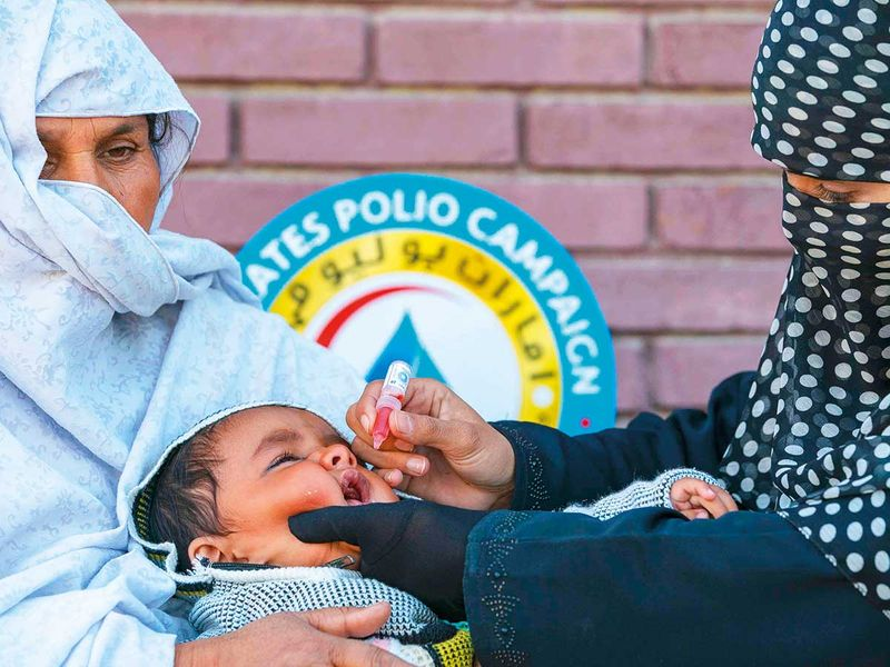 'More efforts needed to end polio in Pakistan'