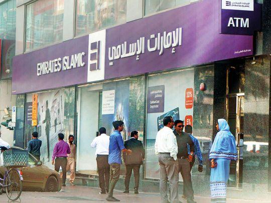 An Emirates Islamic branch in Dubai