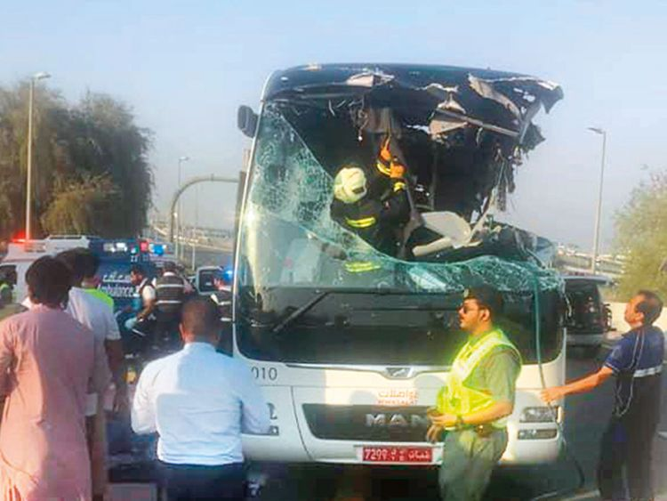 Dubai bus crash victims entitled for compensation, say experts