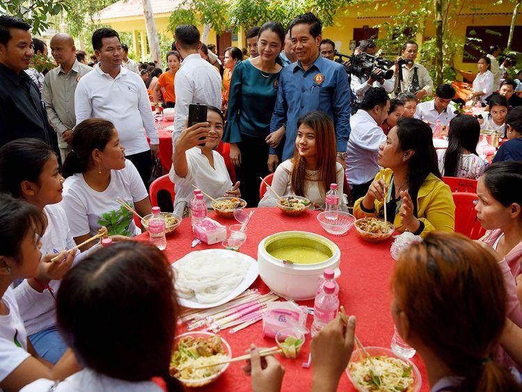 Phnom Penh governor Khuong Sreng