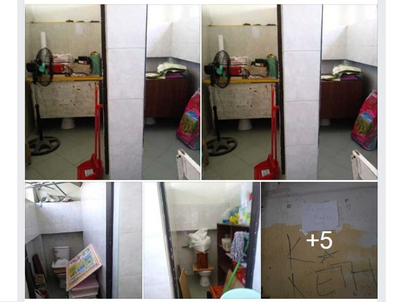 Toilet faculty room