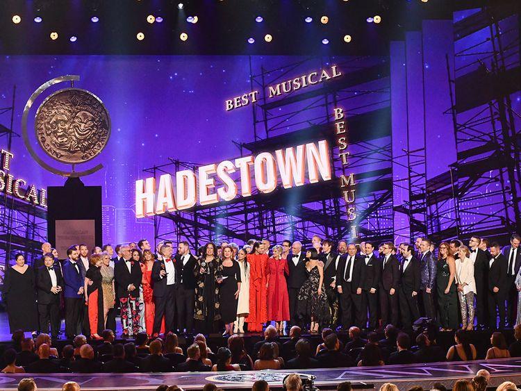 Hadestown tony awards