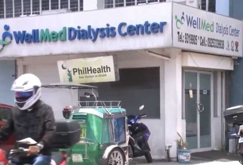 The facade of the WellMed Dialysis Center in Novaliches