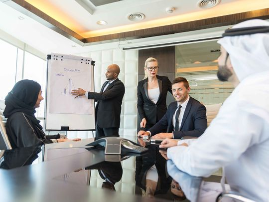 UAE's private business confidence at a five-year high