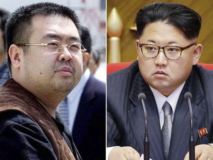 IMG KIM JONG NAM AND KIM JONG UN