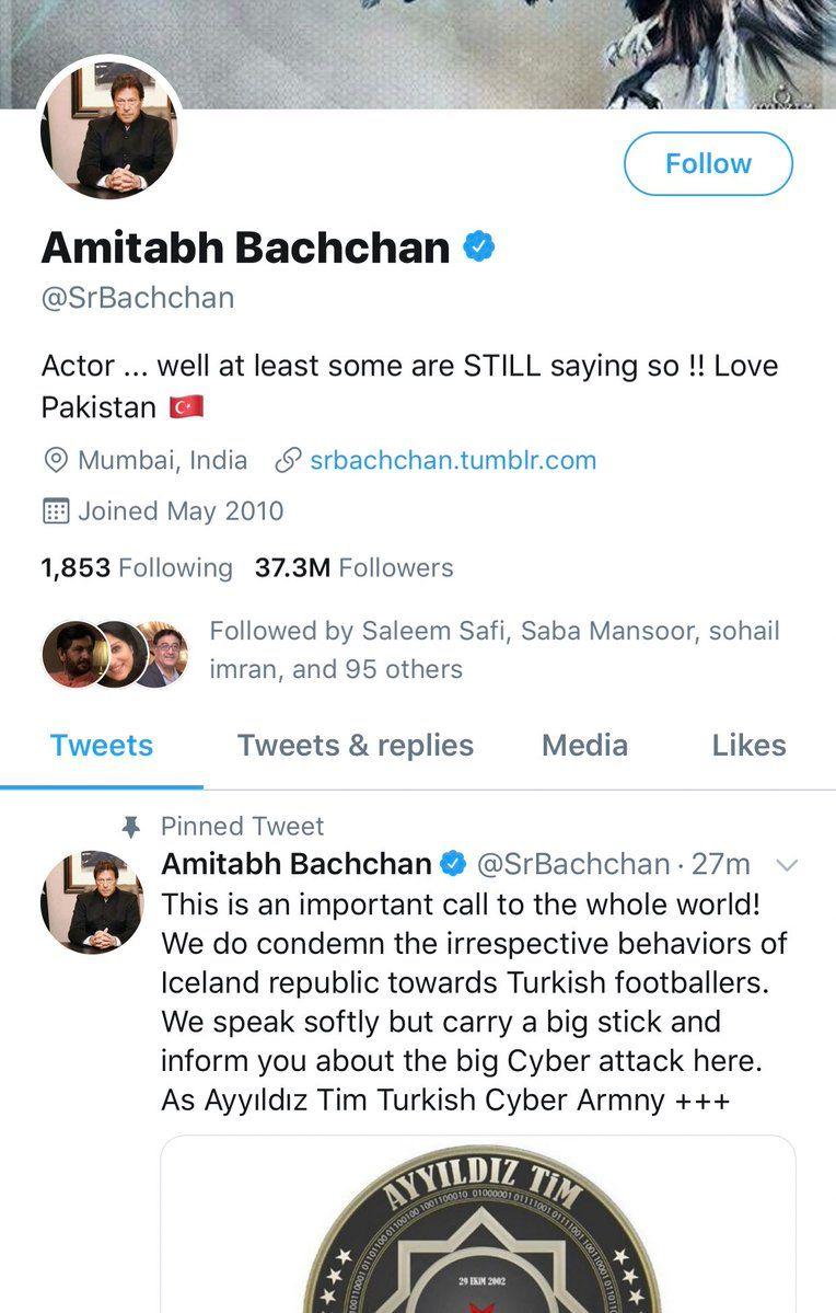 Amitabh twitter hacked