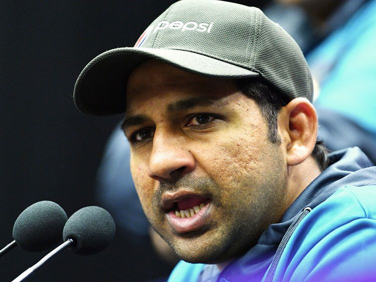 Pakistan captain Sarfaraz Ahmed