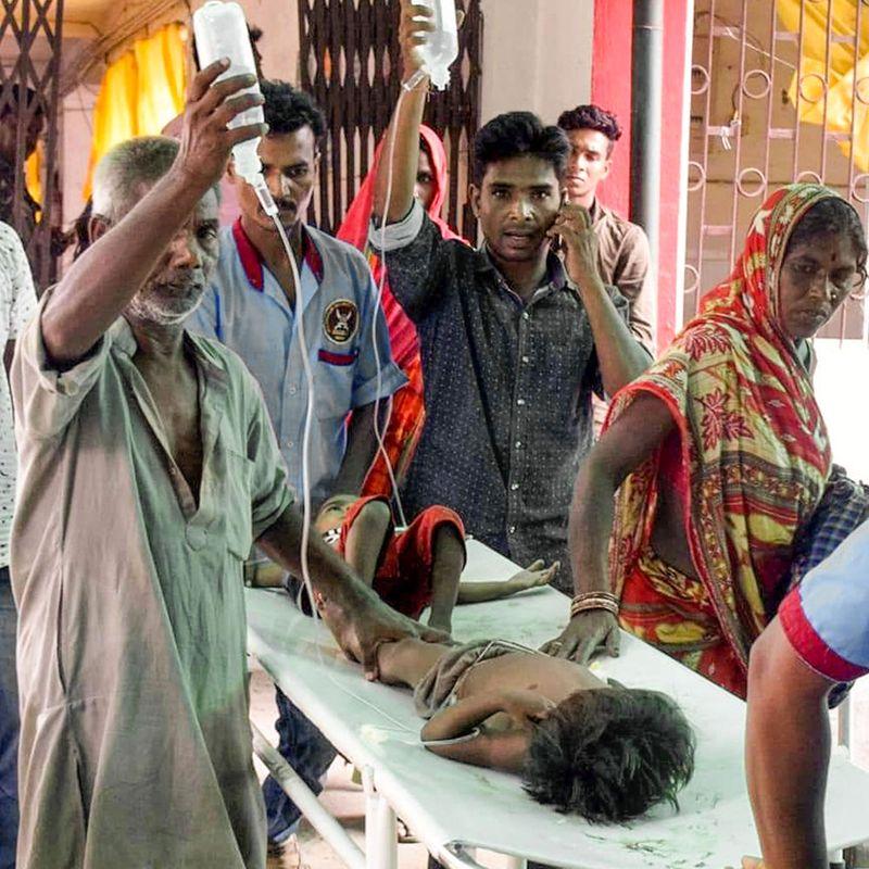 What is encephalitis, how did 53 children die in India?