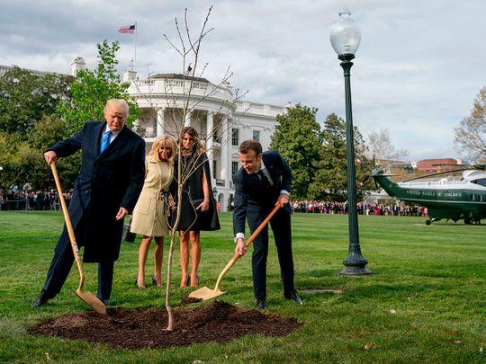 France_Macron_Trump_Tree_01873