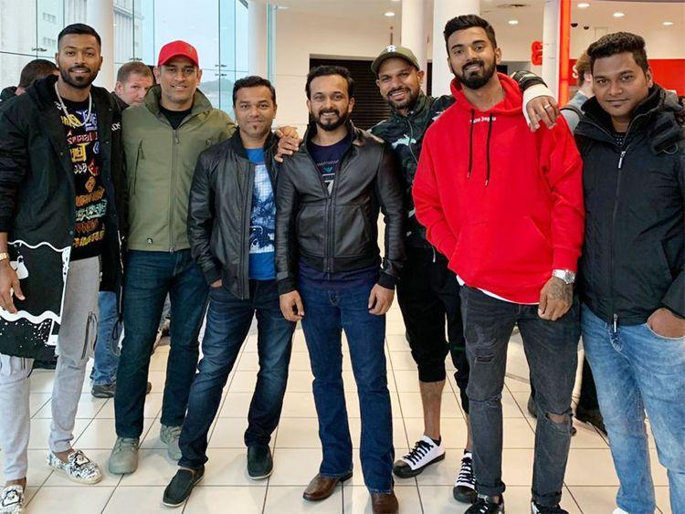 Indian cricket team enjoys 'Bharat' in England