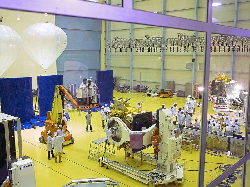 Chandrayaan-2 spacecraft Lander module