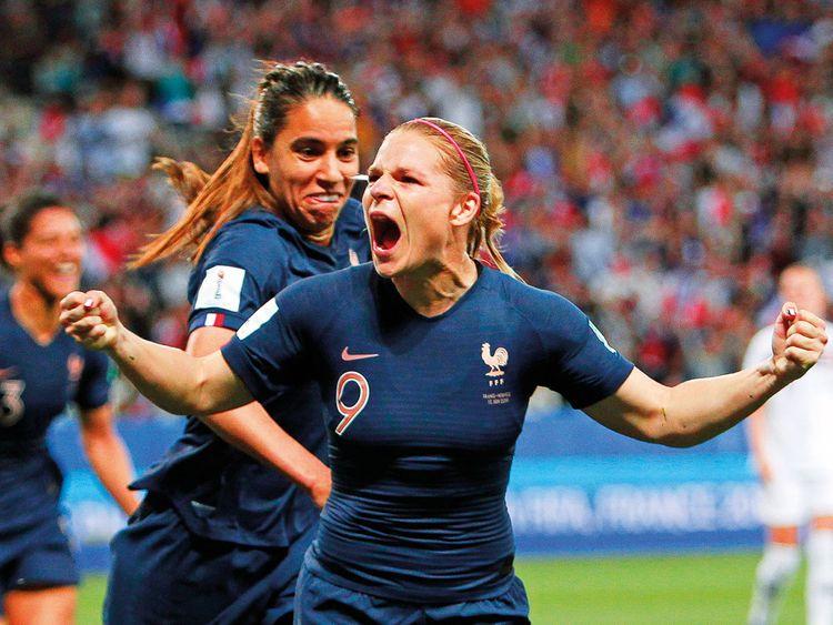 France's Eugenie Le Sommer