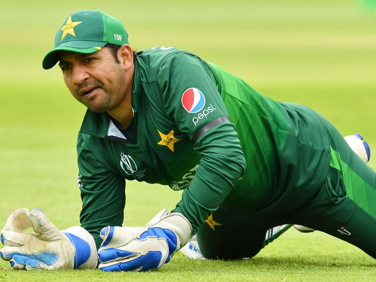 Pakistan's captain Sarfaraz Ahmad