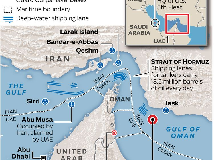 Attack on oil tankers in Gulf of Oman: Trump pins tanker