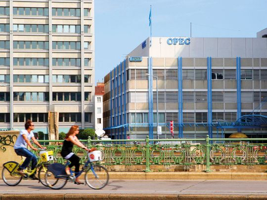 The Opec headquarters in Vienna