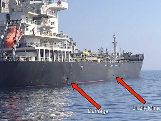 Tanker attack
