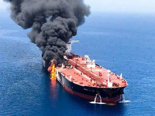 Gulf of Oman tanker
