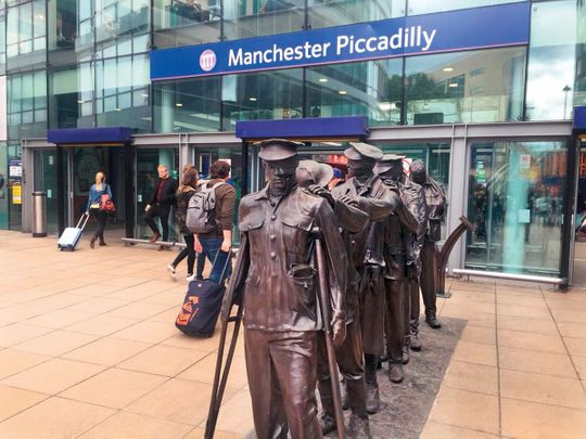 Manchester Piccadilly Railway station