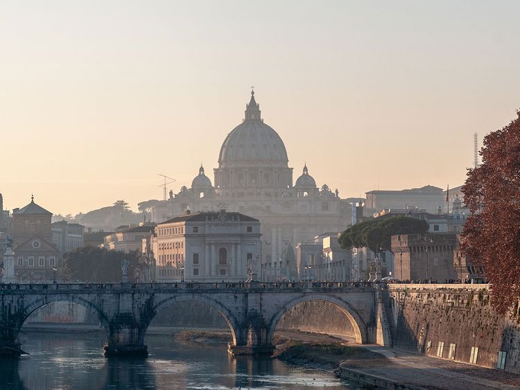Rome, Italy skyline