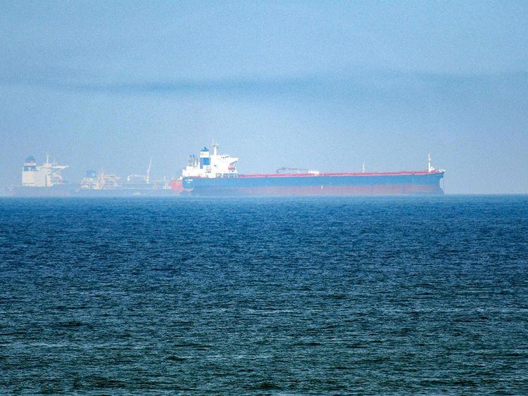 Tanker, gulf