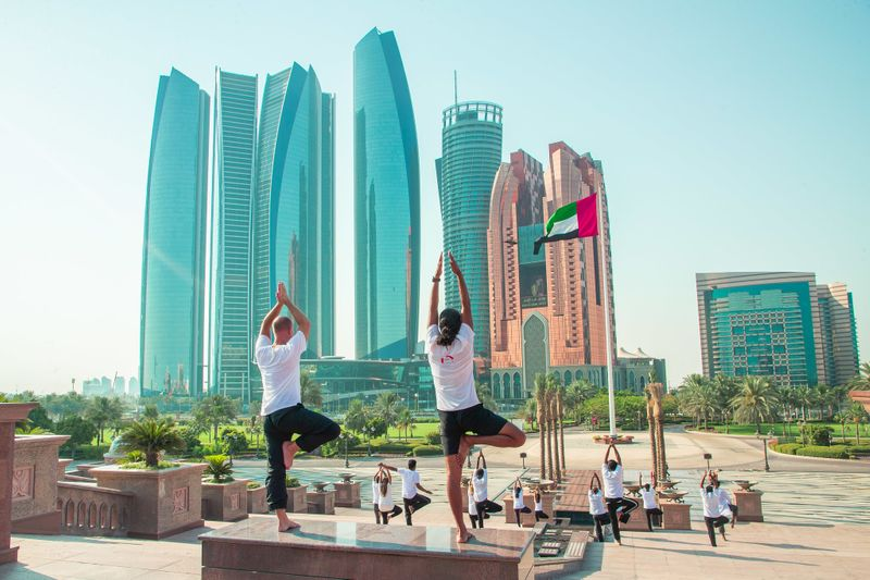 International Day of Yoga in Abu Dhabi