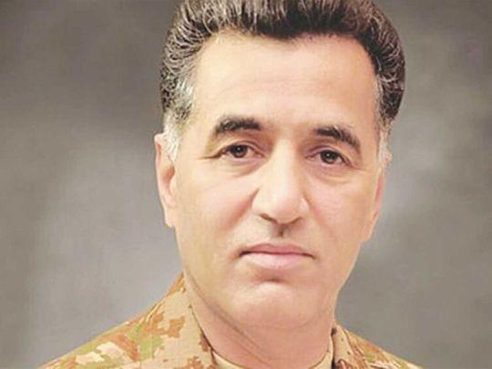 Lt General Faiz Hameed