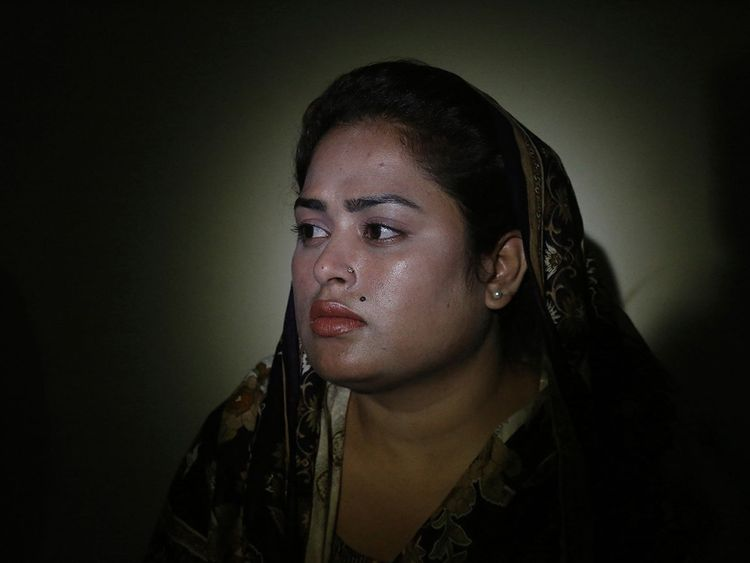 Pakistani Christian Natasha Masih