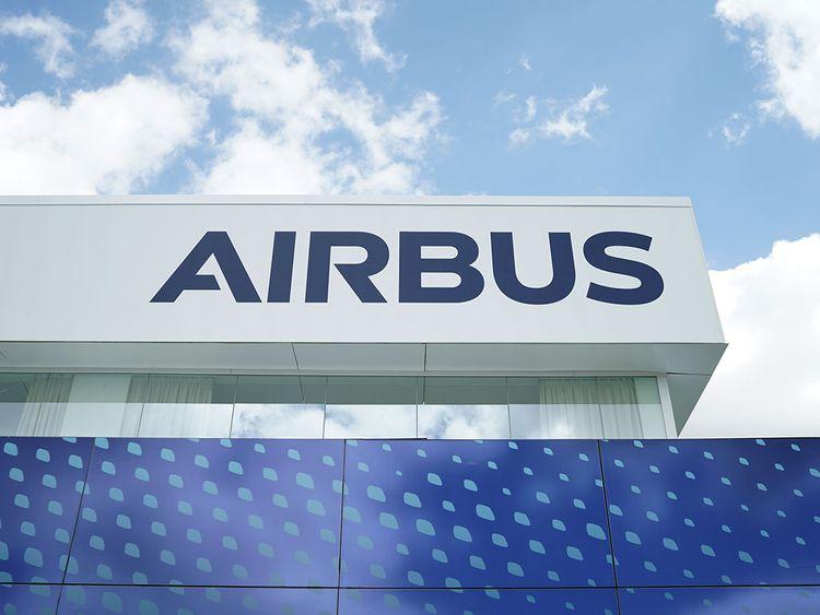 The Airbus SE logo
